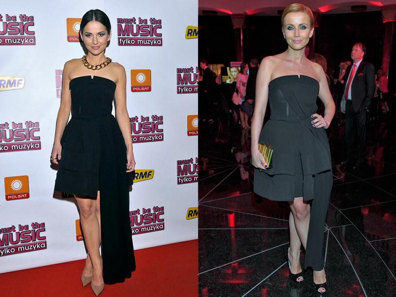 Gwiazdy w tej samej sukience. Która wygląda lepiej? /AKPA