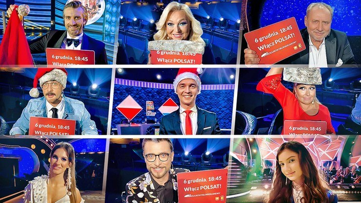 Gwiazdy wspierają Mikołajkowy Blok Reklamowy /Polsat