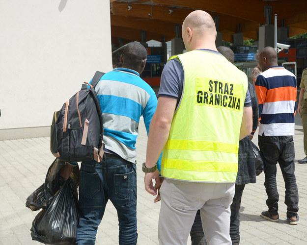 Gwinejczycy mają wrócić na Ukrainę /Straż Graniczna /