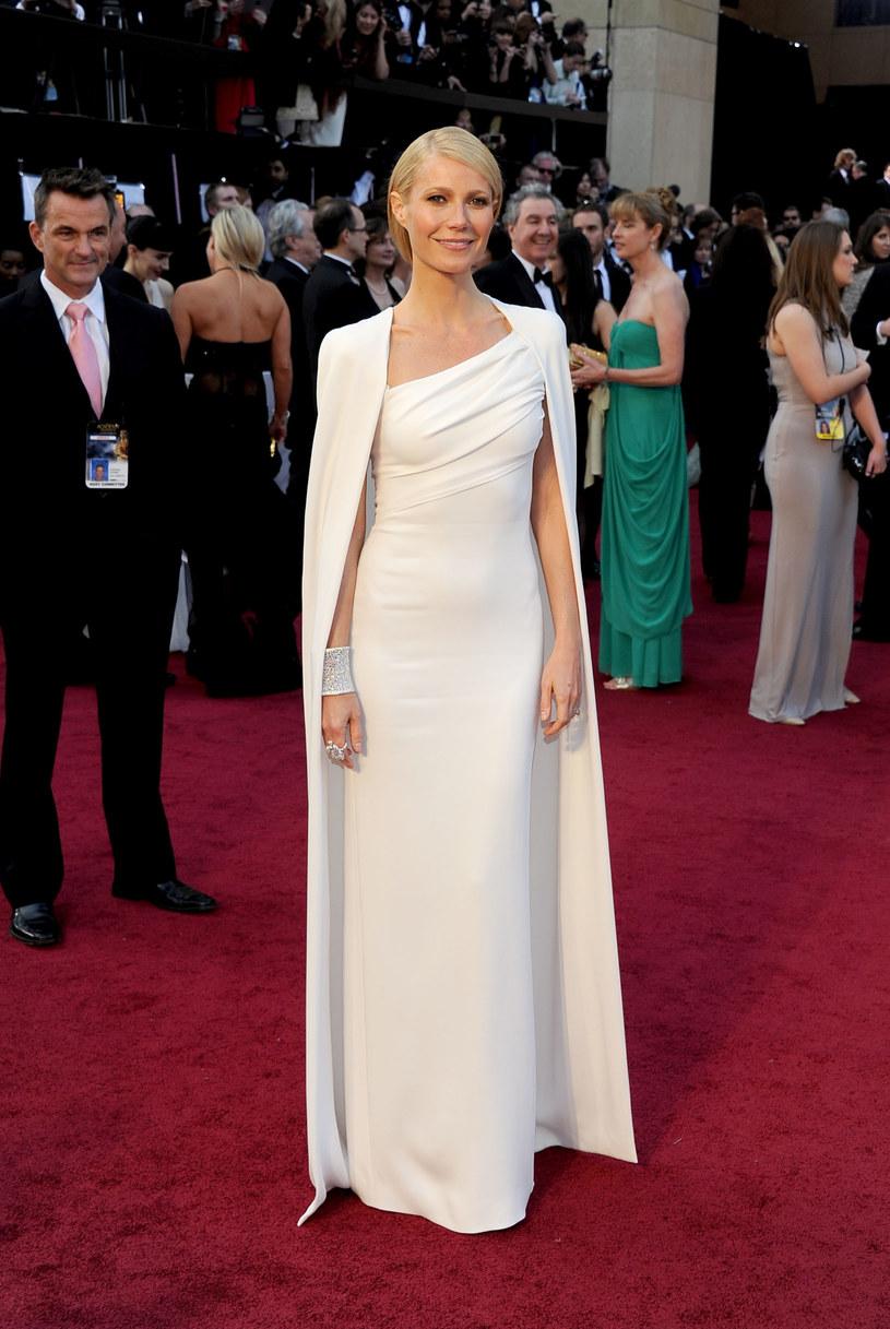 Gwyneth na rozdaniu Oscarów w 2012 roku /Getty Images