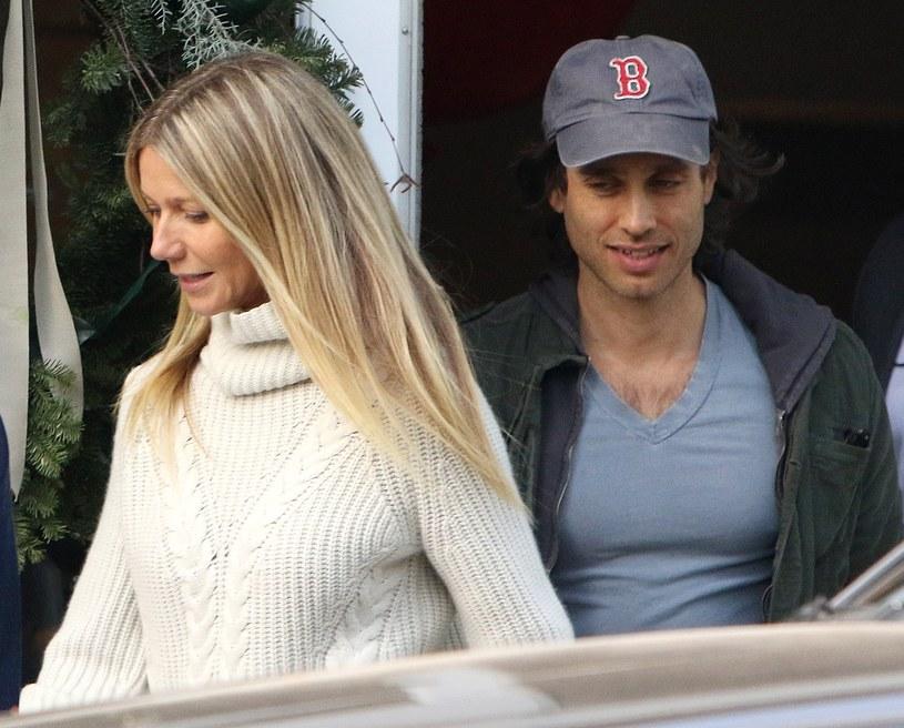 Gwyneth Paltorow i Brad Falchuk /East News