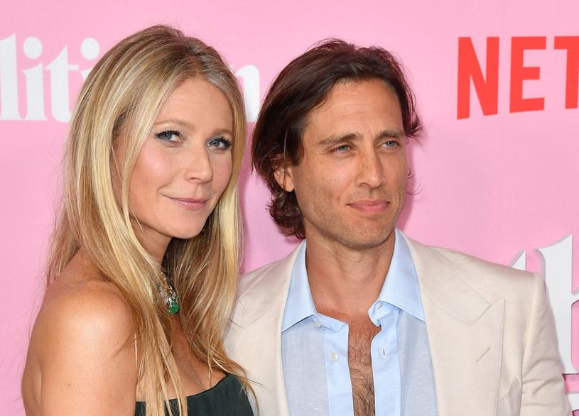 Gwyneth Paltrow i Brad Falchuk /ANGELA WEISS/AFP /East News