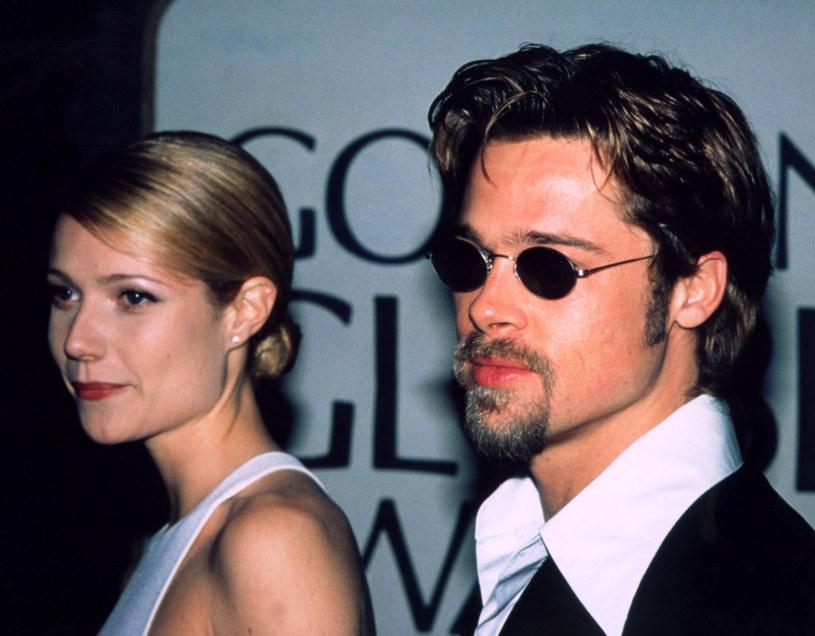 Gwyneth Paltrow i Brad Pitt byli najgorętszą parą lat 90. /Everett Collection /East News