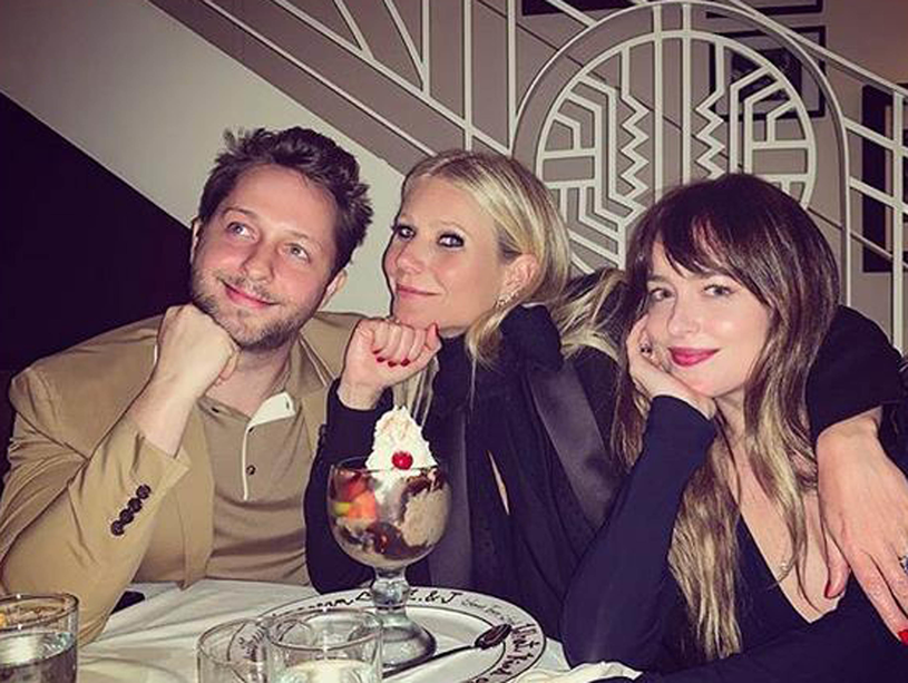 Gwyneth Paltrow i Dakota Johnson przyjaźnią się /PLANET PHOTOS /Agencja FORUM