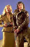 Gwyneth Paltrow i Jude Law na planie filmu /