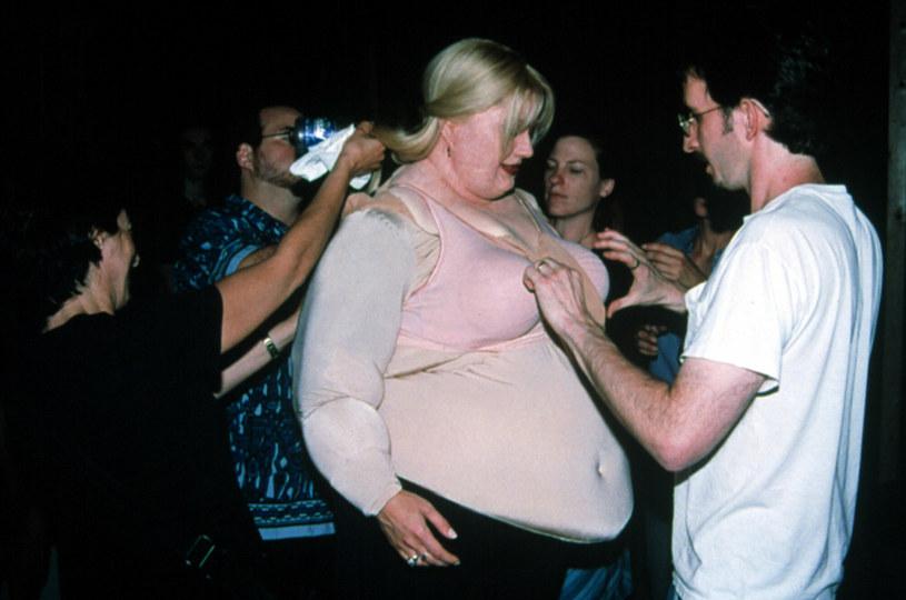 """Gwyneth Paltrow przygotowująca się do wejścia na plan """"Płytkiego faceta"""" /20thCentFox/Courtesy Everett Collection /East News"""