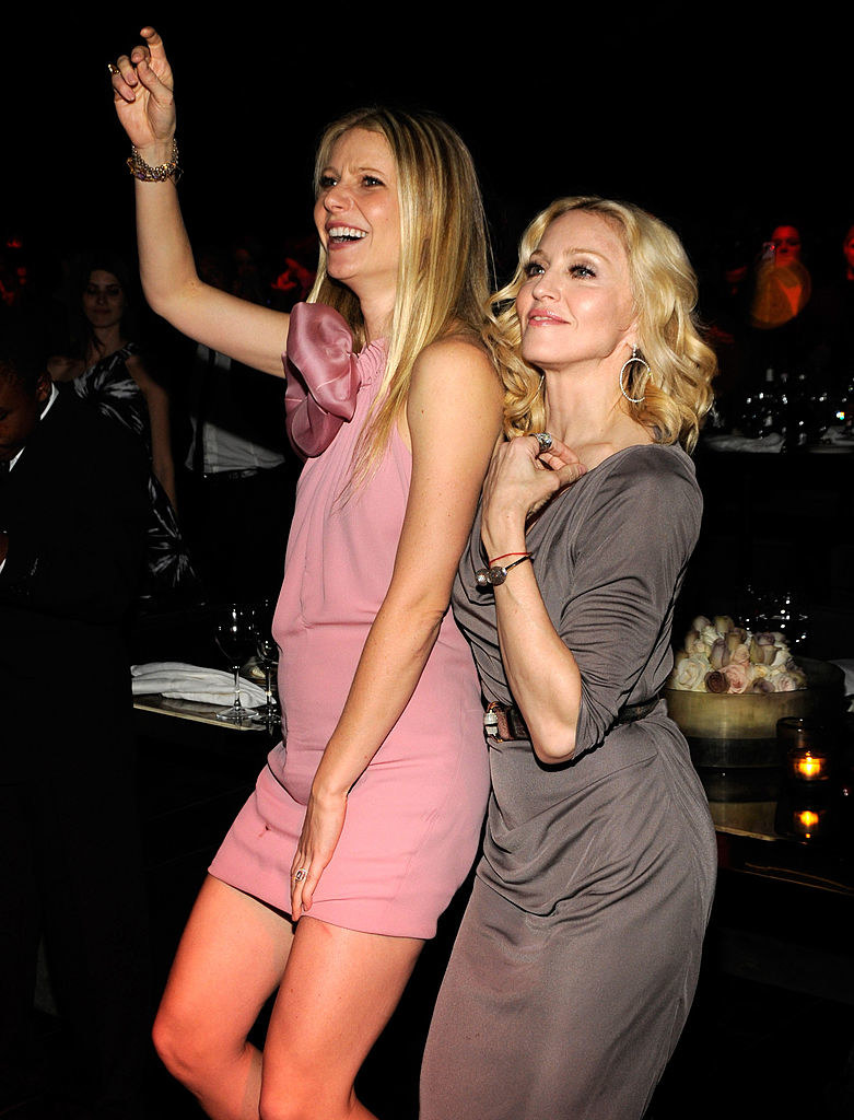 Gwyneth Paltrwo i Madonna w 2007 roku. /Kevin Mazur/WireImage /Getty Images