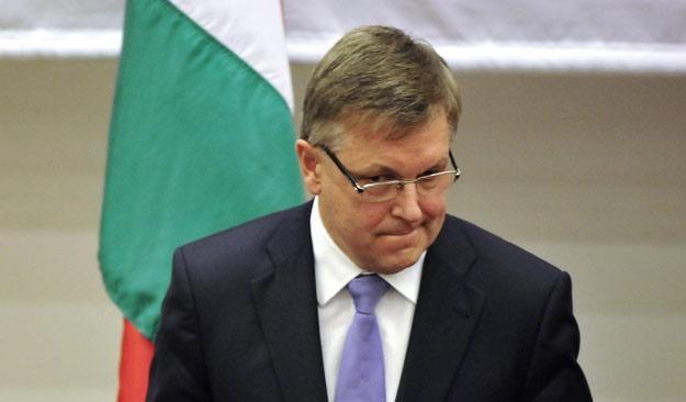 Gyorgy Matolcsy, minister gospodarki Węgier /AFP