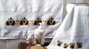 Haftowane ręczniki