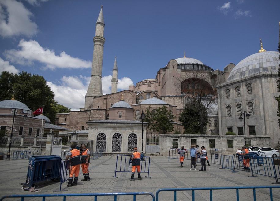 Hagia Sophia /ERDEM SAHIN /PAP/EPA