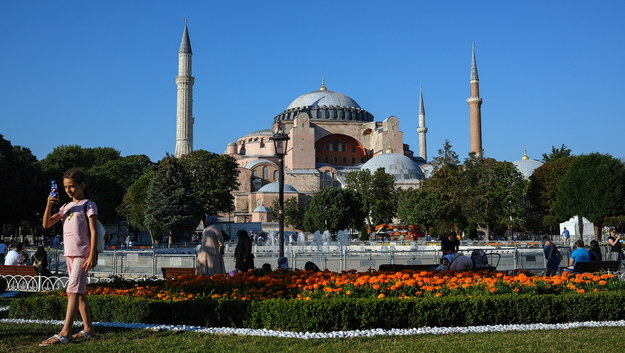 Hagia Sophia /SEDAT SUNA /PAP/EPA