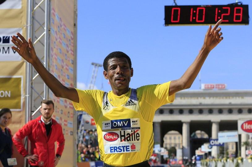 Haile Gebrselassie wkracza do świata polityki /AFP