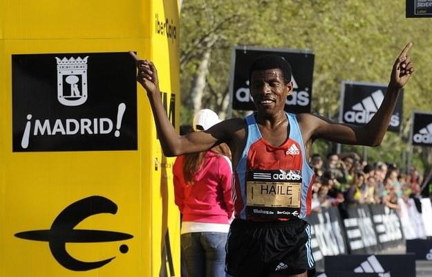 Haile Gebrselassie /AFP
