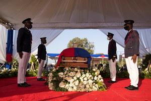 Haiti: Strzały na pogrzebie zamordowanego prezydenta kraju