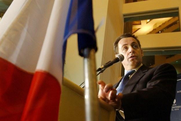 Hakerzy już podjęli decyzję w sprawie politycznej przyszłości Nicolasa Sarkozy'ego /AFP
