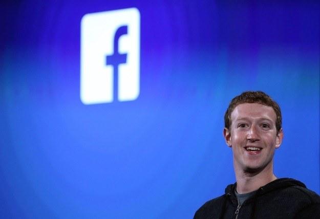 Hakerzy zaatakowali profile Marka Zuckerberga /AFP