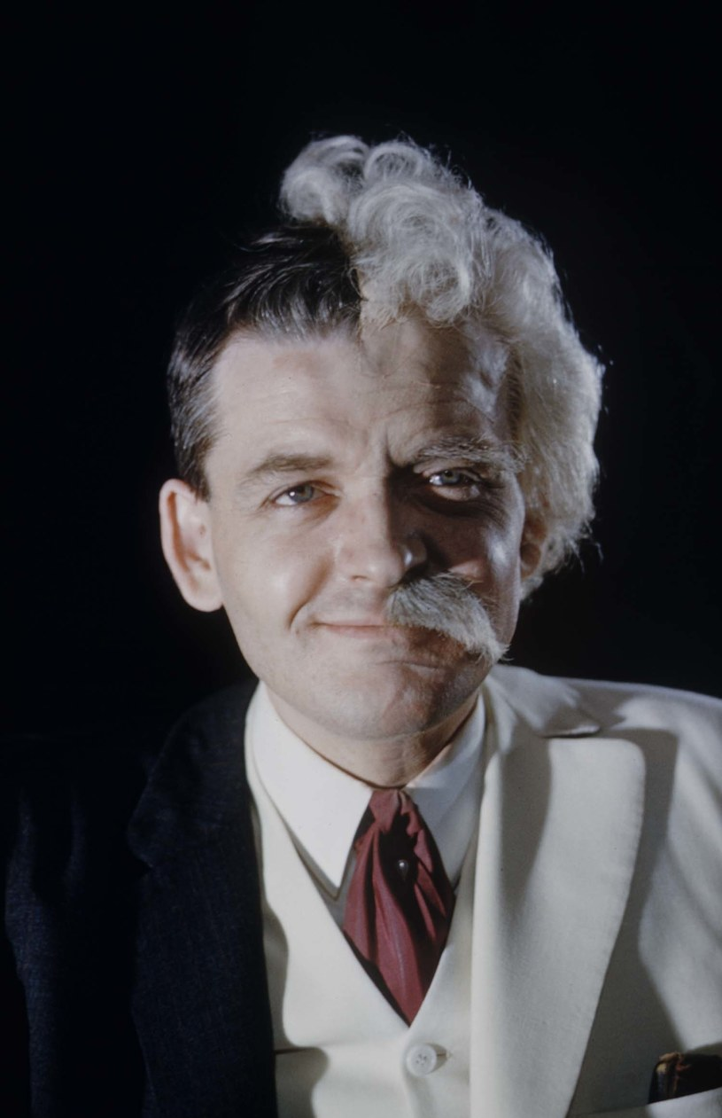 Hal Holbrook jako Mark Twain /Robert W. Kelley/The LIFE Picture Collection /Getty Images