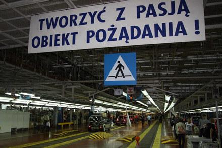 Hala fabryki Fiata w Tychach /INTERIA.PL