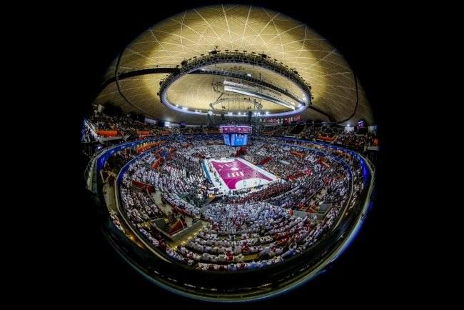 Hala Lusajl Sports Arena /PAP/EPA