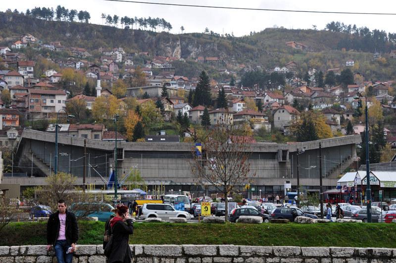 Hala olimpijska w Sarajewie /Maciej Słomiński /