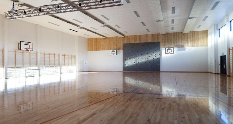Halden: Sala gimnastyczna /Trond Isaksen / Rex Features /East News
