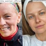 Halejcio, Werner, Chodakowska, Lewandowska: Te gwiazdy lubią pokazywać się bez makijażu