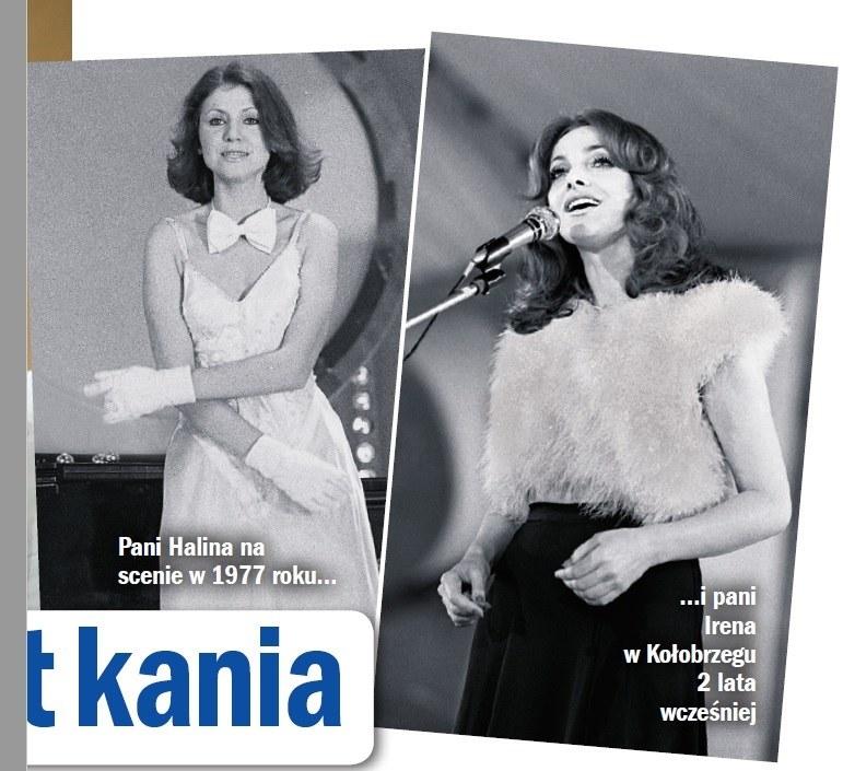 Halina Frąckowiak i Irena Jarocka /- /Życie na gorąco