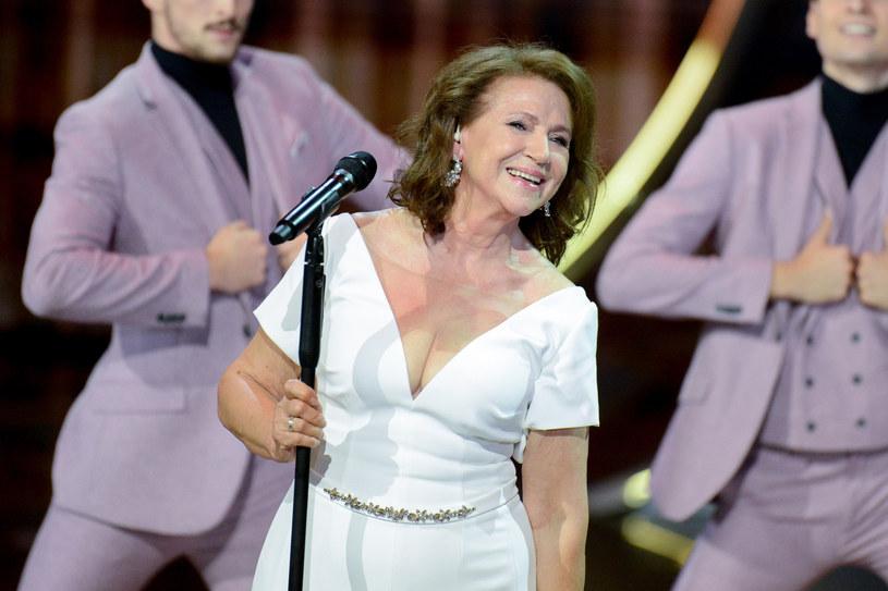 Halina Frąckowiak to jedna z największych gwiazd polskiej muzyki /Tadeusz Wypych /Reporter