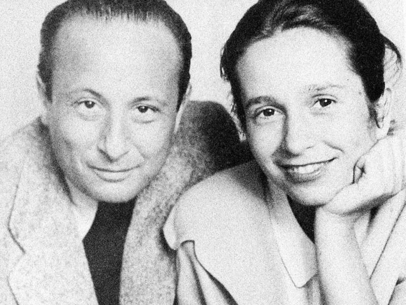 Halina i Władysław Szpilmanowie  /East News
