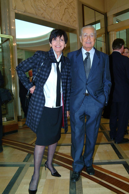 Halina Kunicka i Lucjan Kydryński /Prończyk /AKPA