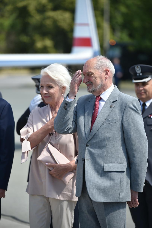 Halina Łabonarska z Antonim Macierewiczem /Rafał Oleksiewicz /East News