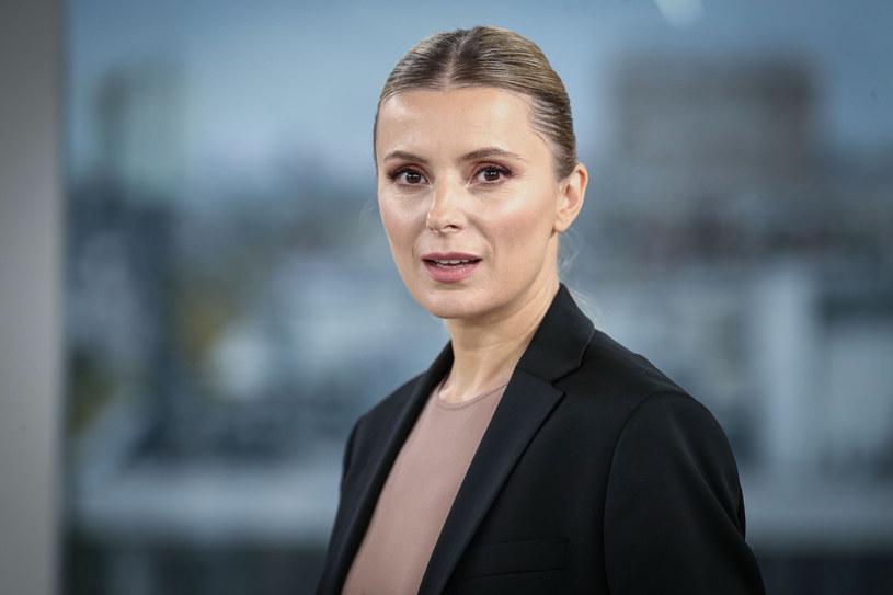 Halina Mlynkova chce wesprzeć ofiary przemocy domowej /KAMIL PIKLIKIEWICZ/Dzien Dobry TVN/East News /East News
