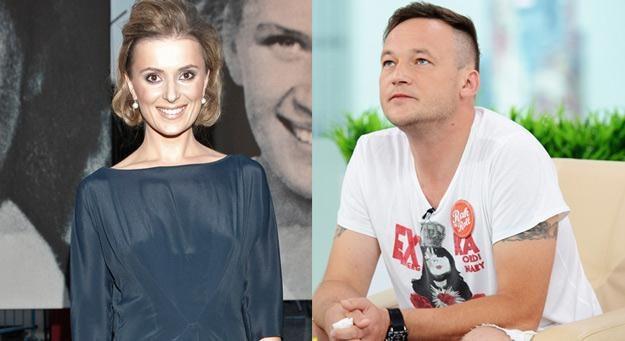 Halina Mlynkova i Bartosz Prokopowicz - fot. AKPA / East News /