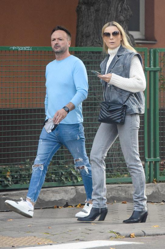 Halina Mlynkova i Marcin Kindla /brak /pomponik exclusive