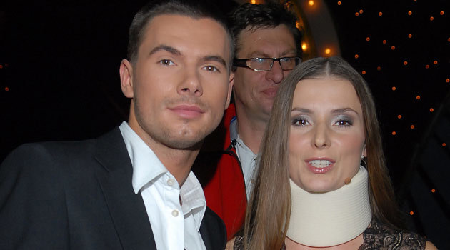 Halina Mlynkova i Robert Rowiński, fot. Andrzej Szilagyi  /MWMedia