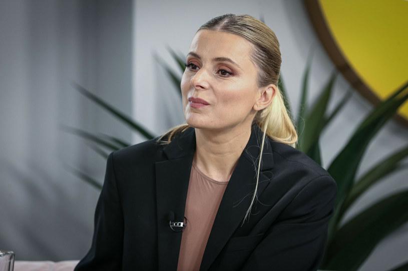 Halina Mlynkova po raz drugi została mamą /KAMIL PIKLIKIEWICZ/Dzien Dobry TVN/East News /East News