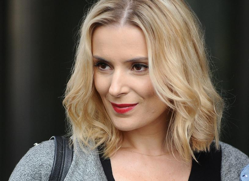 Halina Mlynkova w makijażu /MWMedia