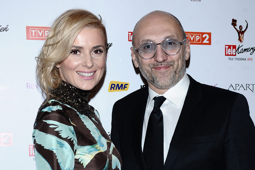 Halina Mlynkova z mężem /MWMedia