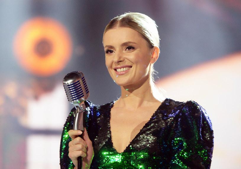 Halina Mlynkowa ma już jedno dziecko. Teraz znów będzie mogła sprawdzić się w roli mamy! /Jan Bielecki /East News