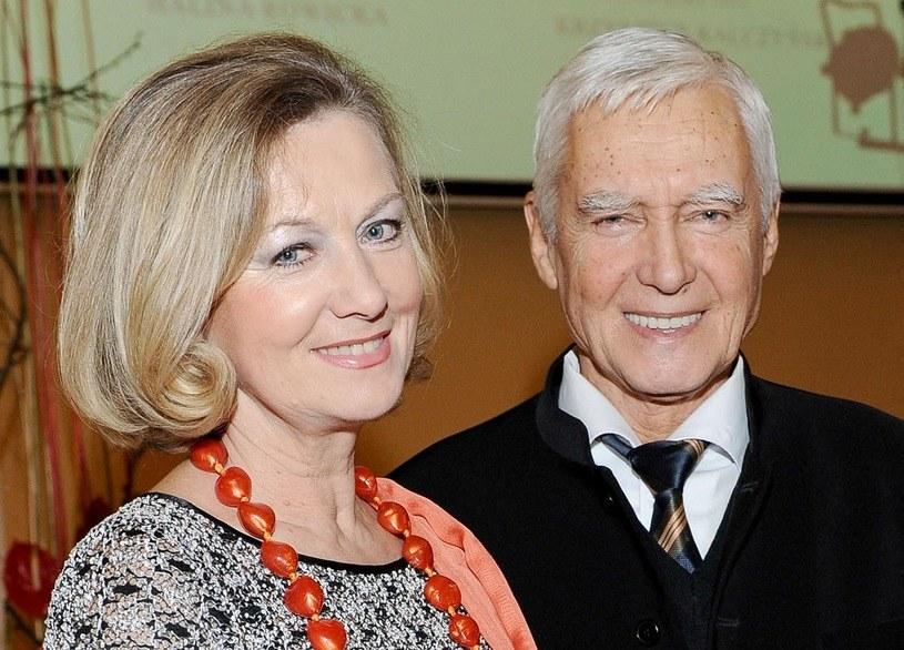 Halina Rowicka i Krzysztof Kalczyński /AIM