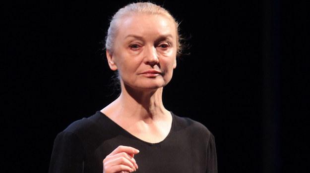 Halina Skoczyńska w warszawskim Teatrze Na Woli /  /MWMedia