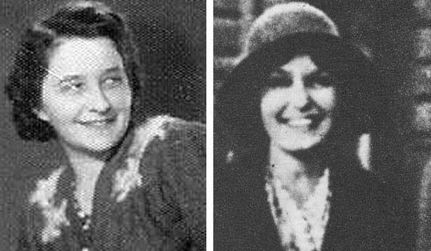 """Halina Żurowska (z lewej) i Emilia Malessa """"Marcysia"""" /"""