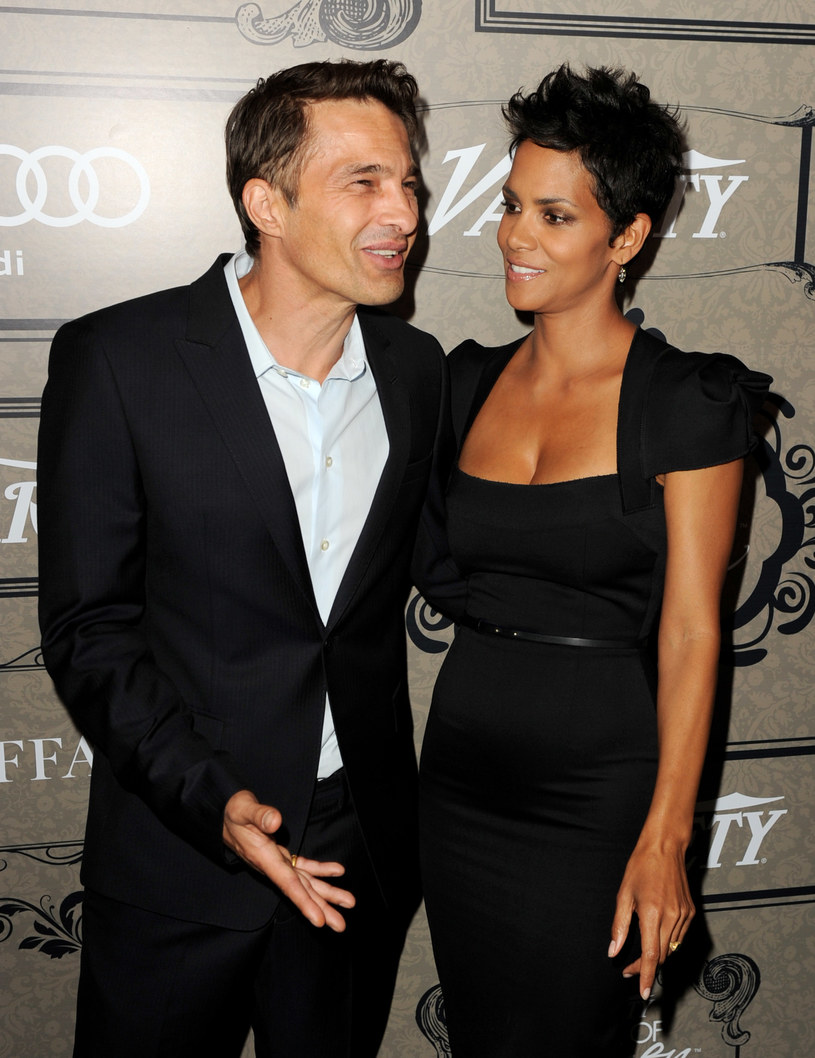 Halle Berry i Olivier Martinez /Kevin Winter /Getty Images