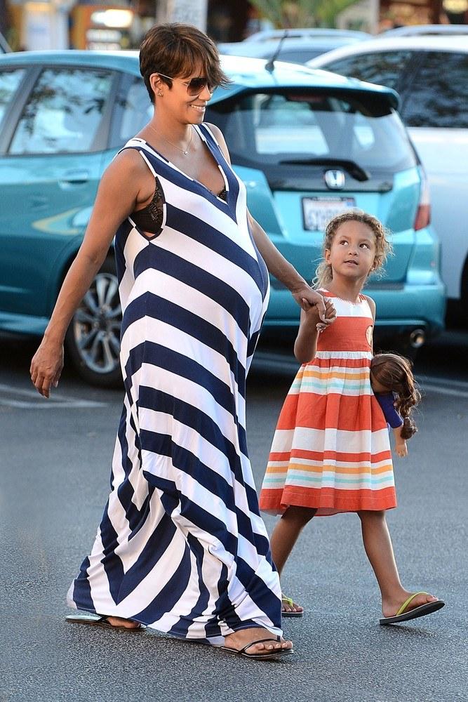 Halle Berry z córką /- /East News