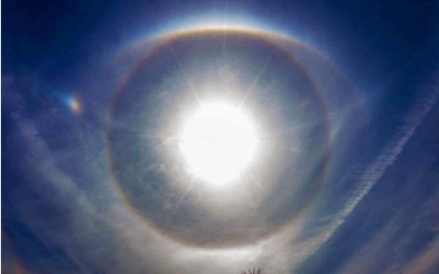 Halo słoneczne zaobserwowane w Kanadzie /materiały prasowe