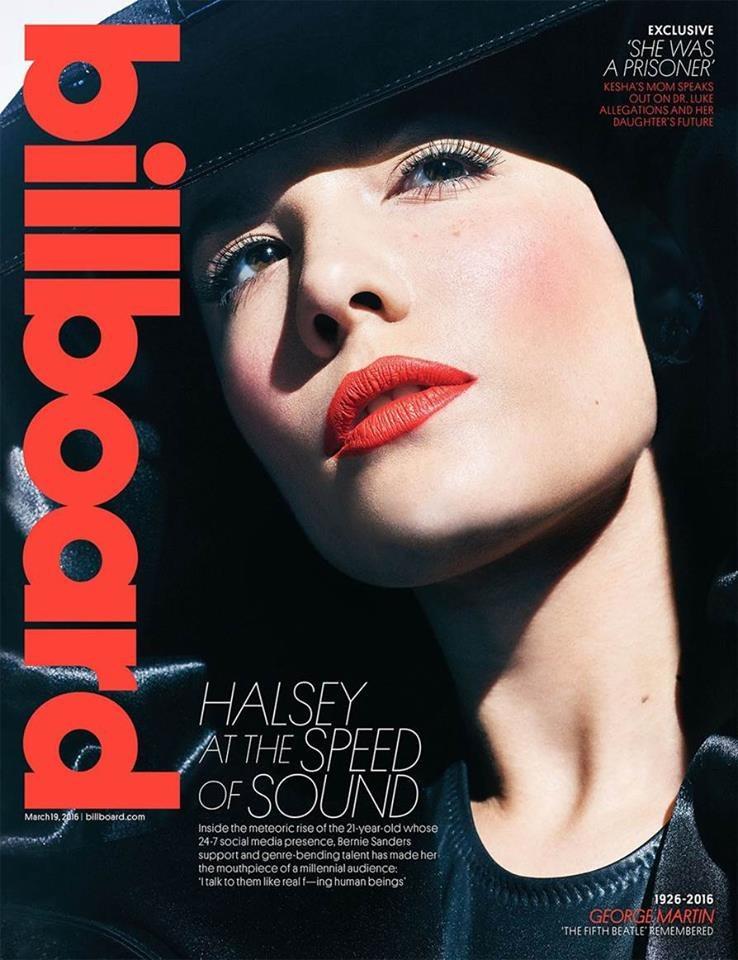 "Halsey na okładce magazynu ""Billboard"" /"