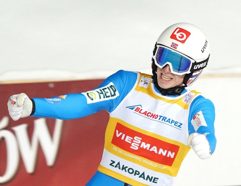 Halvor Egner Granerud /Janek Skarżyński /AFP