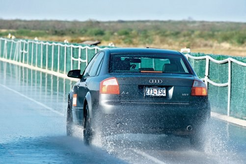 Hamowanie na mokrym /Motor