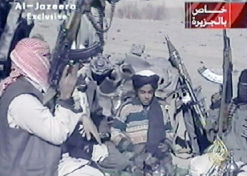 Hamza bin Laden jako dziecko /AFP