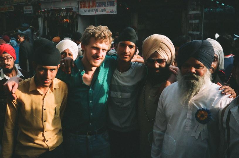 """""""Han Solo"""" w New Delhi, rok 1989 /materiały prasowe"""